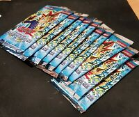 10x YuGiOh Legend of Blue Eyes LOB 1st Edition Booster Packs Portuguese Sealed