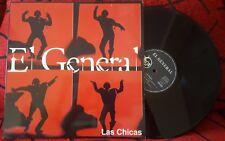 """Latin Rap EL GENERAL *** Las Chicas *** VERY RARE 1994 Spain 12"""" SINGLE"""