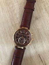 Michael Kors Armbanduhren mit Leder Armband für Damen