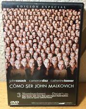 COMO SER JOHN MALKOVICH DVD. ED ESPECIAL DVD
