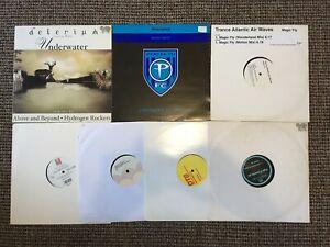 7x Trance / Progressive Vinyl Records Bundle Job Lot Collection