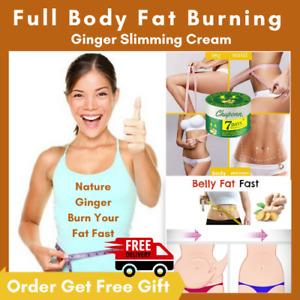 2021 Ginger Slimming Cream Full Body Fat Burning Gel Anti Cellulite Weight Loss