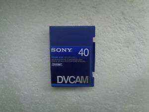 DVCAM SONY PDVM-40N Didital Video Cassette - New