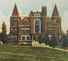 1907 Knights Of Pythias Home K of P Fraternal Springfield Ohio Vintage Postcard