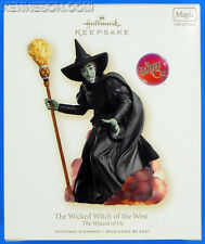 The Wicked Witch of the West The Wizard of Oz Magic Sound Hallmark Ornament 2007