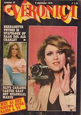 VERONICA 1978 nr. 37 - BERNADETTE WALTERS / CARLENE CARTER / JEFF WAYNE / TOP 40