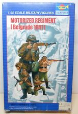 Trumpeter 1:35 Military Figures No 00403 Motorized Regiment [Belgrade 1941]