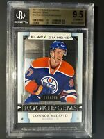 2015-16 Connor McDavid Black Diamond Rookie Gems /399 BGS 9.5