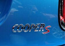 MINI Cooper S Emblème Insigne Coffre Hayon Logo METAL chromé 16 cm Countryman