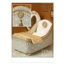 """Vogue Craft Sewing Pattern Vogue Craft Linda Carr 14"""" Doll's Bed & LITERIE V9143"""