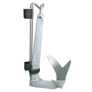 Nawa Stainless Steel Holder for Bruce / Claw Anchors - 5 to 10 KG Deck Boat CU6