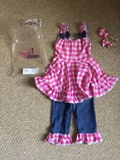 Dance Dezines Designs Country Babes Baby Doll Festival Costume Size Child 1 Pink