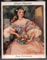 """Lady Castlemaine England's """"Uncrowned Queen"""" c80 Y/O Ad Trade Card"""