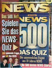 500. Ausgabe von NEWS + Nr. 29 + 18. Juli 2002