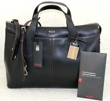 $495 TUMI Lucca City Tote Leather laptop Briefcase Shoulder Handbag NEW W/ Tags
