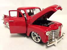 1953 Chevrolet 3100 Pickup Truck,1:24 Diecast, Collectible, Jada Toys, Red, DSP