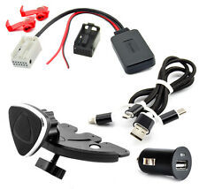 BLUETOOTH ADAPTER für BMW E60 E61 E81 E87 E90 E91 E92 E93 Radio Ladekabel Set