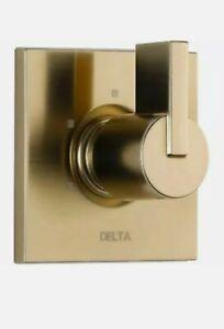 Delta T11853-CZ Vero Three Function Diverter Valve Trim - Champagne Bronze Gold