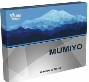 Mumio purified dietary supplement 60 tablets leading ingredients: mumio/ mumijo