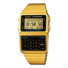 Casio Vintage Retro Calculator Data Bank Gold Dbc611g Dbc-611g-1d