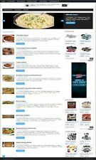 RECIPES EXCHANGE MEMBERSHIP WEBSITE BUSINESS FOR SALE! MOBILE FRIENDLY