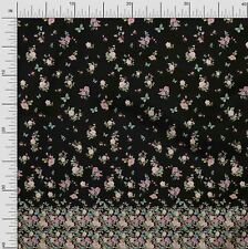 Soimoi Fabric Butterfly & Anemone Panel Decor Fabric Printed BTY - PN-126A