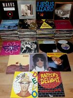 """200+ 7"""" singles with picture sleeves: indie / pop / rock / dance etc. *Untested*"""