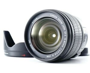 MINT Canon EF-S 15-85mm f/3.5-5.6 IS USM Standard Zoom Lens w/HOOD From  JAPAN