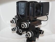 Sinar P3 LC-Shutter 100 Control Unit. Sinaron Digital CMV Lenses. Sinar F and M