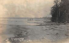 Real Photo Postcard Houghton Lake at Prudenville, Michigan~118464