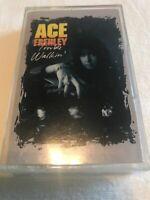 Ace Frehley - Trouble Walkin' - Cassette - Kiss Spaceman 1989 Vintage