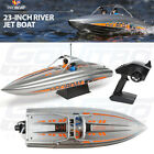 Pro Boat PRB08025 23-inch Deep-V River Jet Boat RTR 2300Kv Brushless STX 2.4GHz