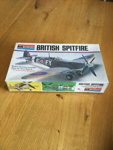 MONOGRAM BRITISH SPITFIRE 1/48 Scale Model Kit Sealed Box