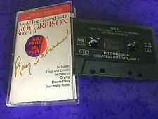 Roy Orbison – The All-Time Greatest Hits CANADIAN ISSUE CASSETTE TAPE