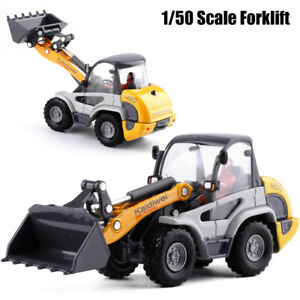1:50 Scale Forklift Truck Construction Vehicle Car Metal Diecast Model Toy Gift