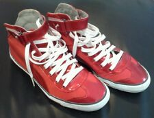 "**""Rere"" Puma Mid Top Red Sneakers Sports Shoes Footwear"