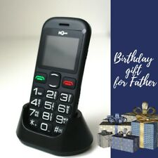 Senior Old People Mobile Phone Big Dial Buttons Ideal Birthday Gift for Father