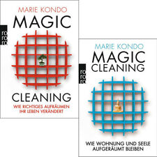 MARIE KONDO Magic Cleaning 1 + 2 IM SET ******NEU & KEIN PORTO******