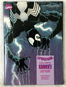 Spider-Man Kraven's Last Hunt High Grade Hardcover HC First Print Out Of Print