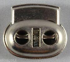10 Stück (0,18 €/Einheit) Kordelstopper 2 loch 5mm