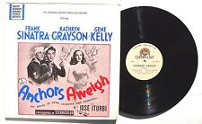 FRANK SINATRA / KATHRYN GRAYSON Anchors Aweight Soundtrack LP CURTAIN CALL NM