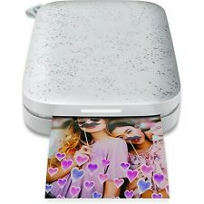 HP Sprocket Portable Photo Printer | 2nd Edition | Luna Pearl | 1AS85A