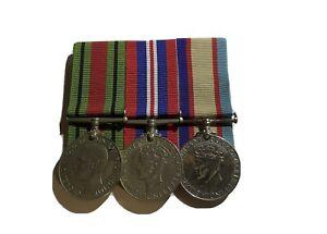 WW2 Medals Original W H Swanson