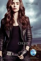 POSTER SHADOWHUNTERS CITY OF BONES THE MORTAL INSTRUMENTS LILY COLLINS CINEMA #2