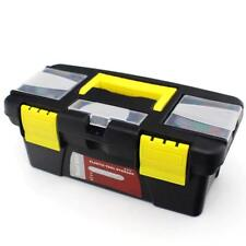 10'' Multifunctional Instrument Parts Tool Box Portable Plastic Storage Toolbox