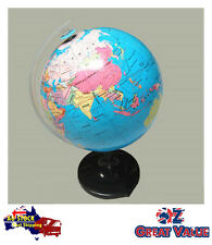 21.4cm Quality Universal Globe on Stand Revolving Glossy Surface TOM-S601C