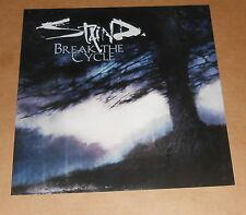 Staind Break the Cycle Poster 2001 Promo 2-Sided Flat Square 12x12