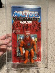 MOTU VINTAGE BEAST MAN Masters of the Universe MOC sealed He-man