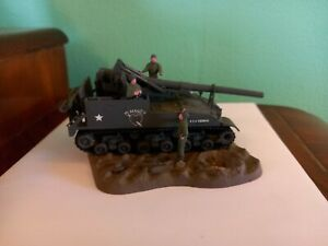 Built and Painted 1/72 WW2 US Army M40/M43 Motor Carriage Diorama
