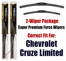 Wipers 2-Pack Hi-Performance - fits 2016 Chevrolet Cruze Limited- 25240/180